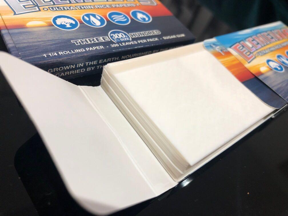 Elements rolling paper RYO
