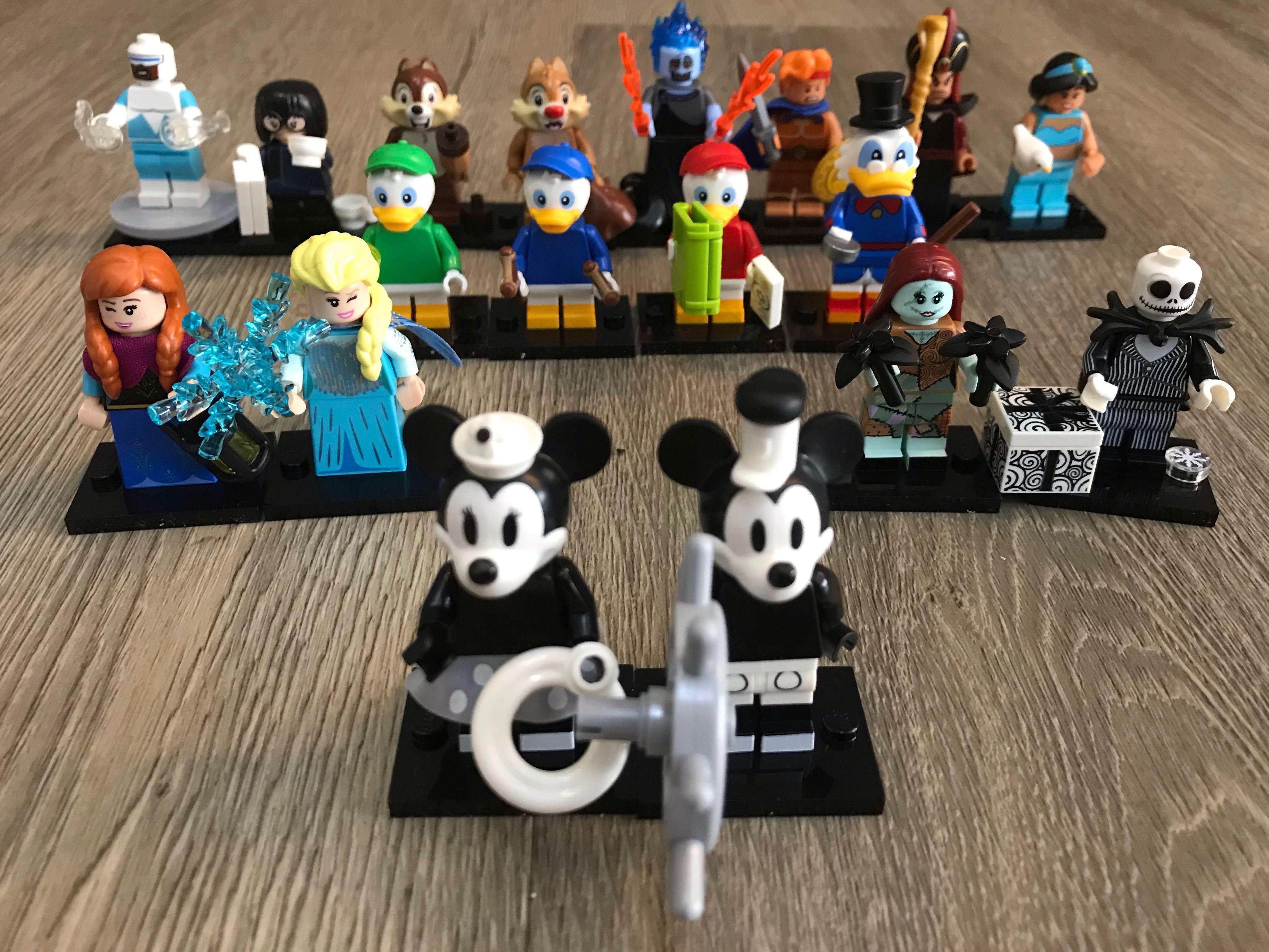 Elsa + Anna Disney Minifigures series 2