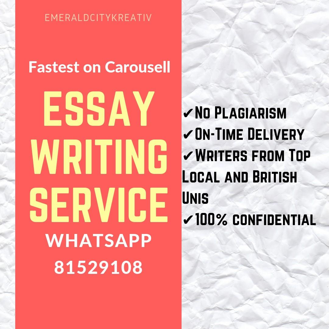 Essay Writing Service ✒️ Ghostwriting for Assignment