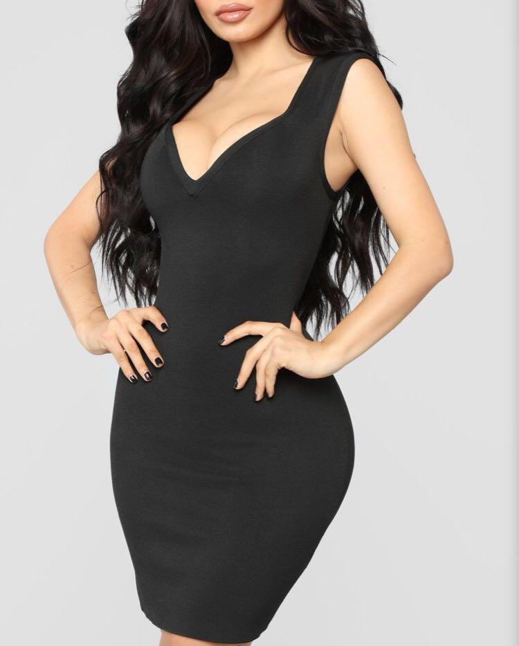 FN Sexy & Sophisticated Bandage Dress