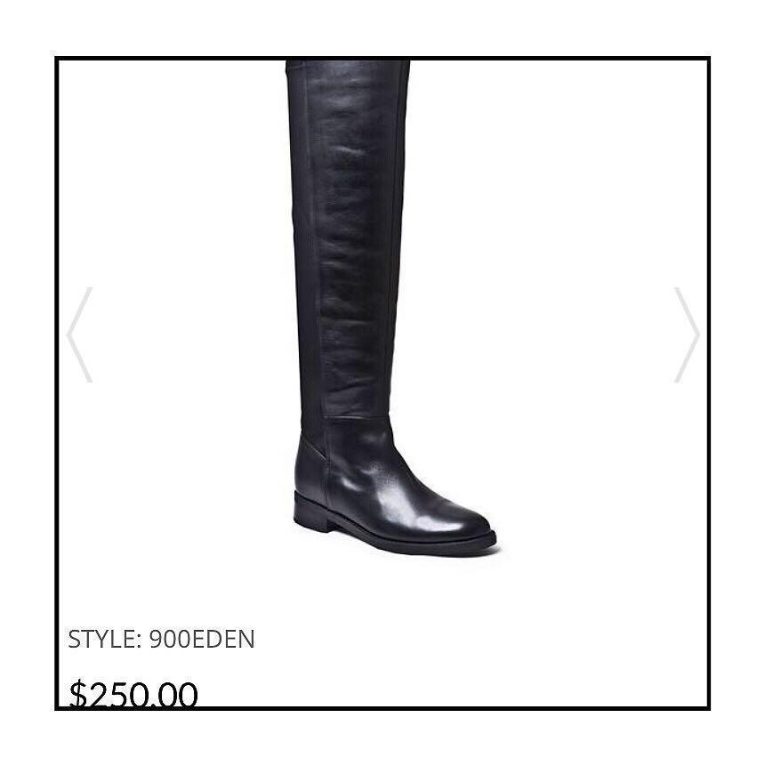 *Gently Worn* Blondo EDEN Over-the-Knee Waterproof Boots Women Size 7.5