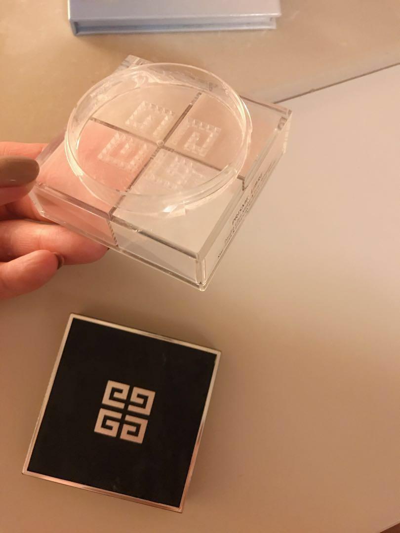 Givenchy Prisme Libre loose powder setting 四色散粉