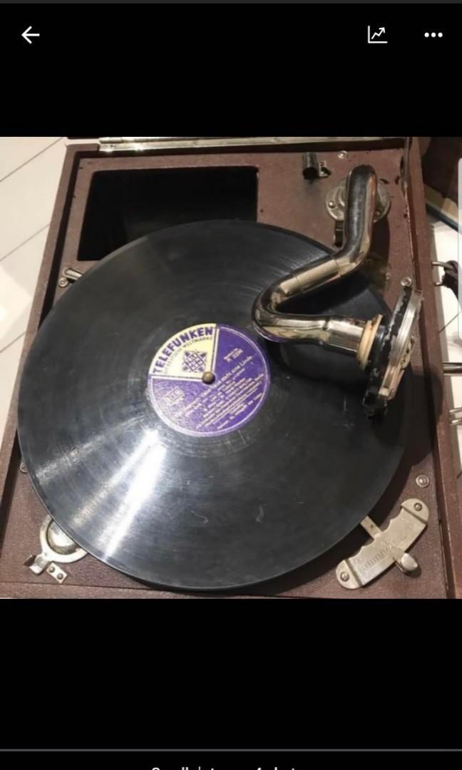 Gramophone 流聲機 cira 1800