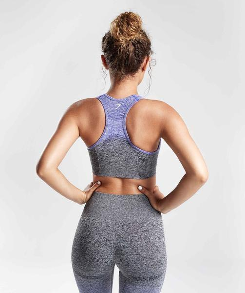Gymshark ombré sports bra and matching leggings (both size small)