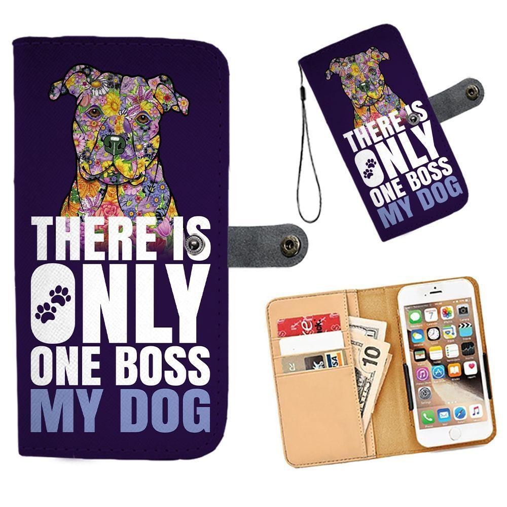 Handmade Pit Bull Phone Wallets