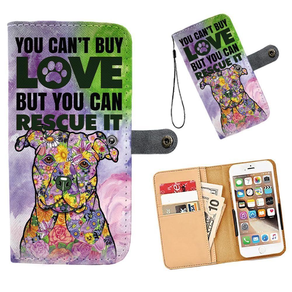 Handmade Pit Bull Phone Wallets