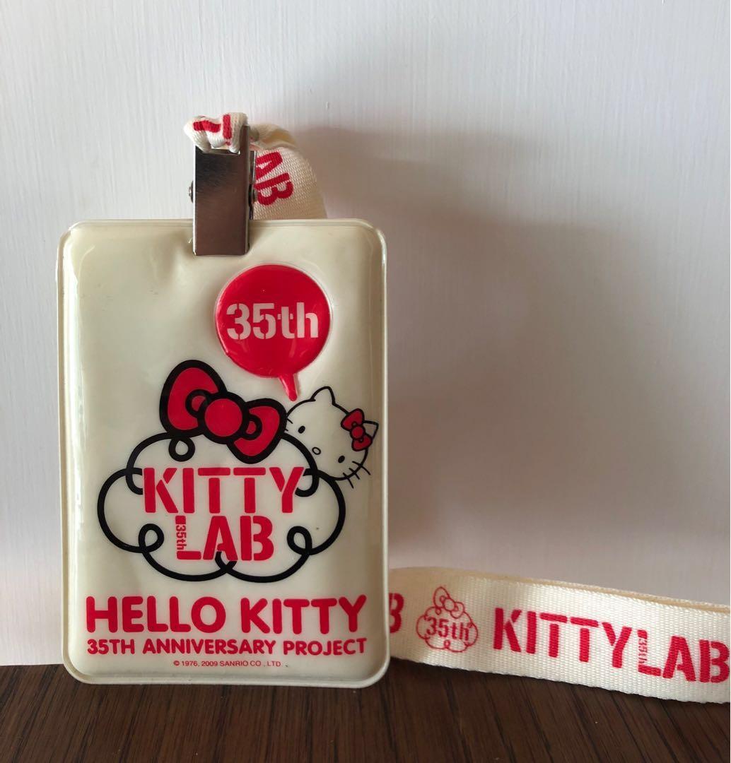 Hello Kitty 35th Anniversary Cardholder/Octopus holder