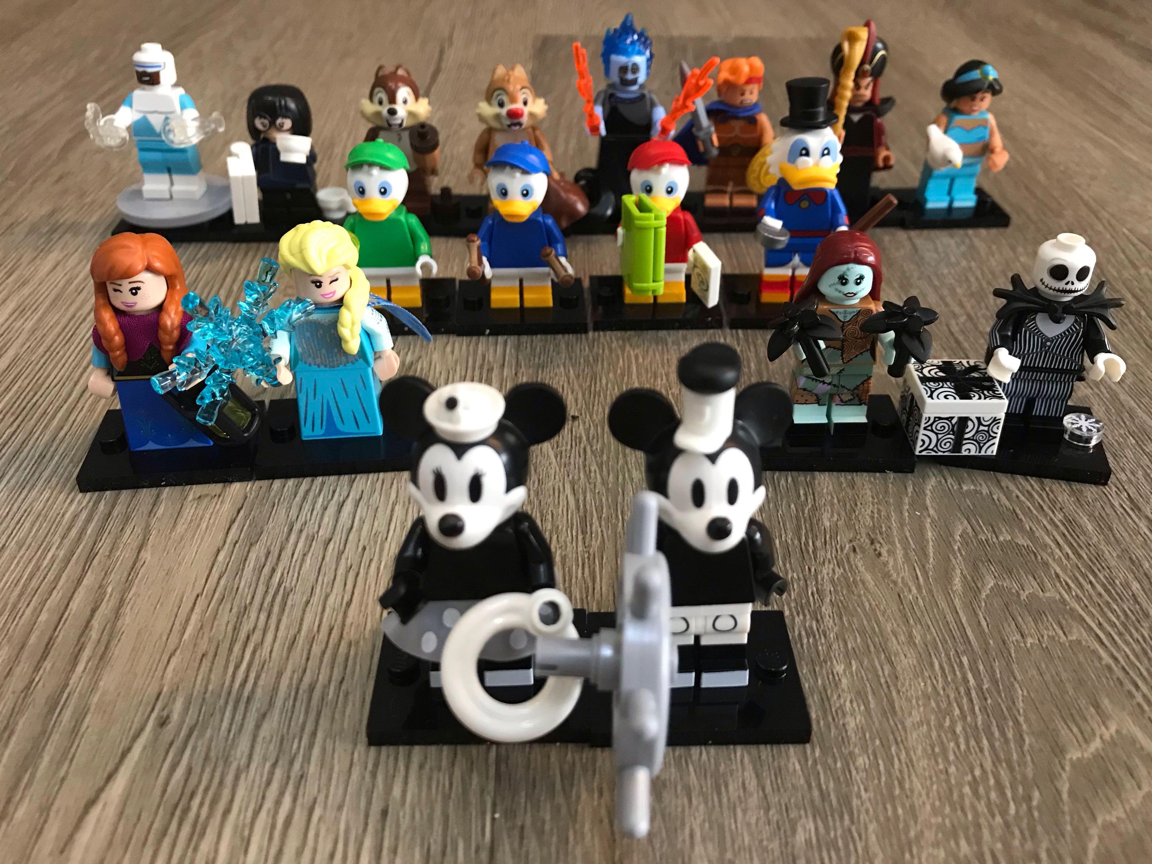 Hercules + Hades Disney Minifigures series 2