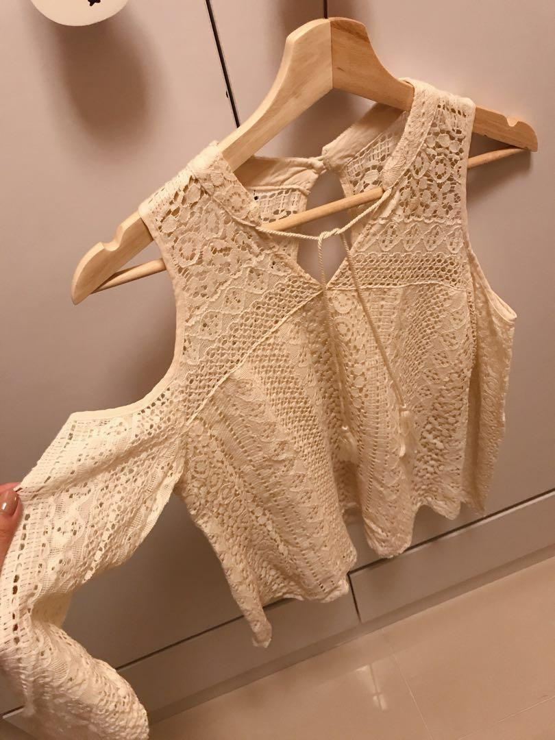 Hollister HCO XS Lace Top