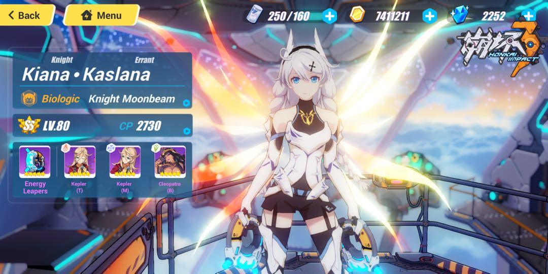 Honkai Impact 3 mega whale account