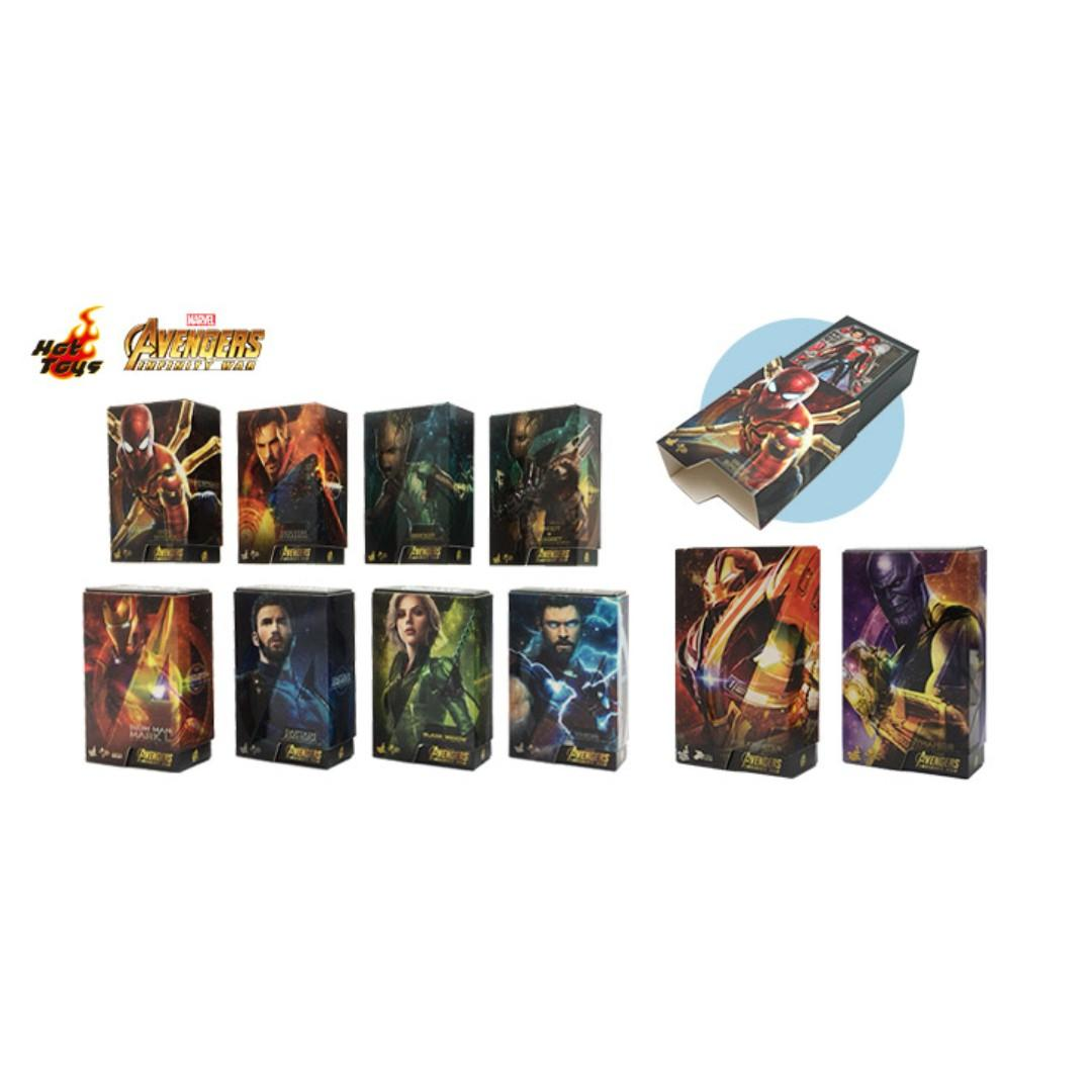 Hot Toys Avengers Infinity War & Civil War Box Art Magnet