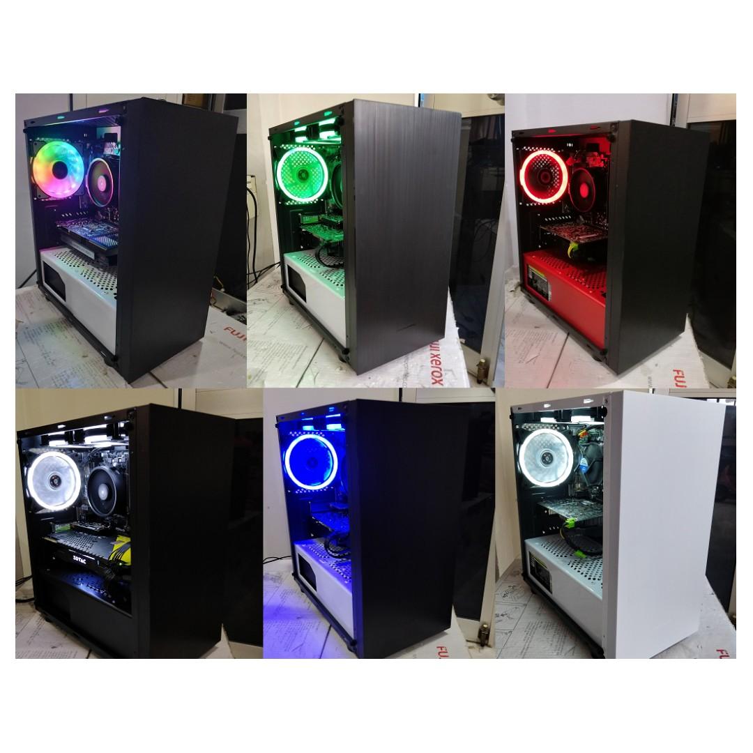Intel i7 8700 + GTX 1060 6GB - Custom Gaming Desktop PC