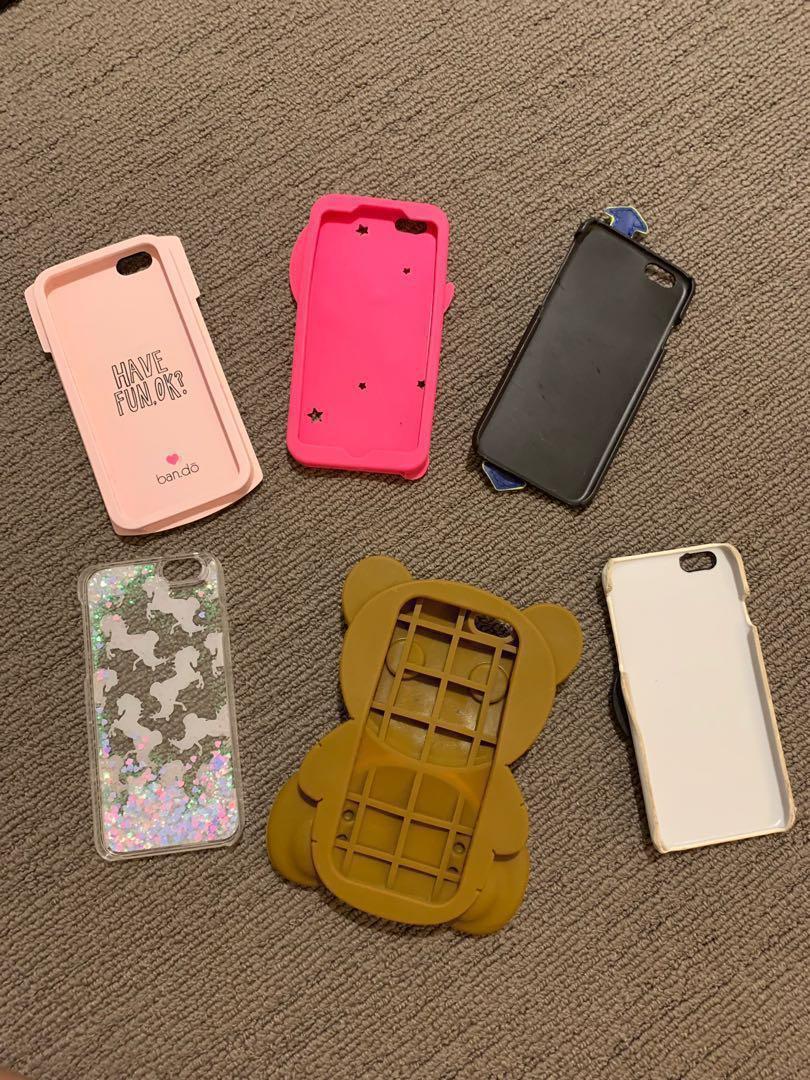 iPhone 6 6S case in a lot