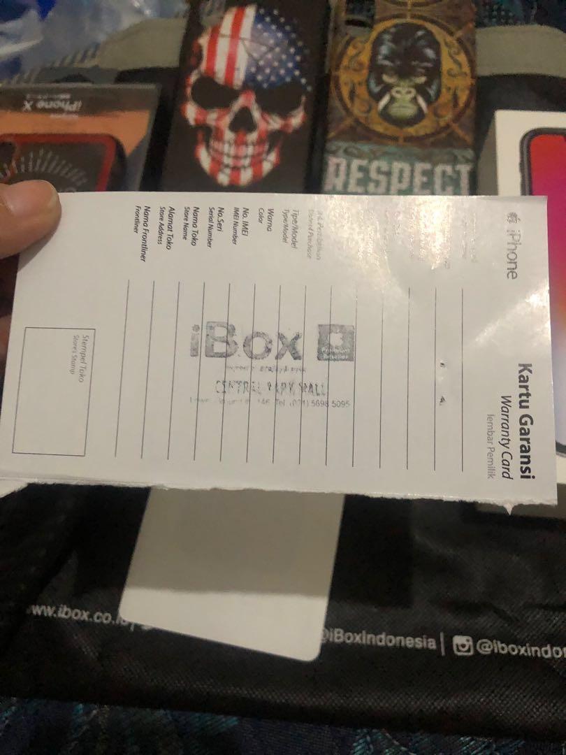 iPhone X iBox original minat hubungi wa 085716616306