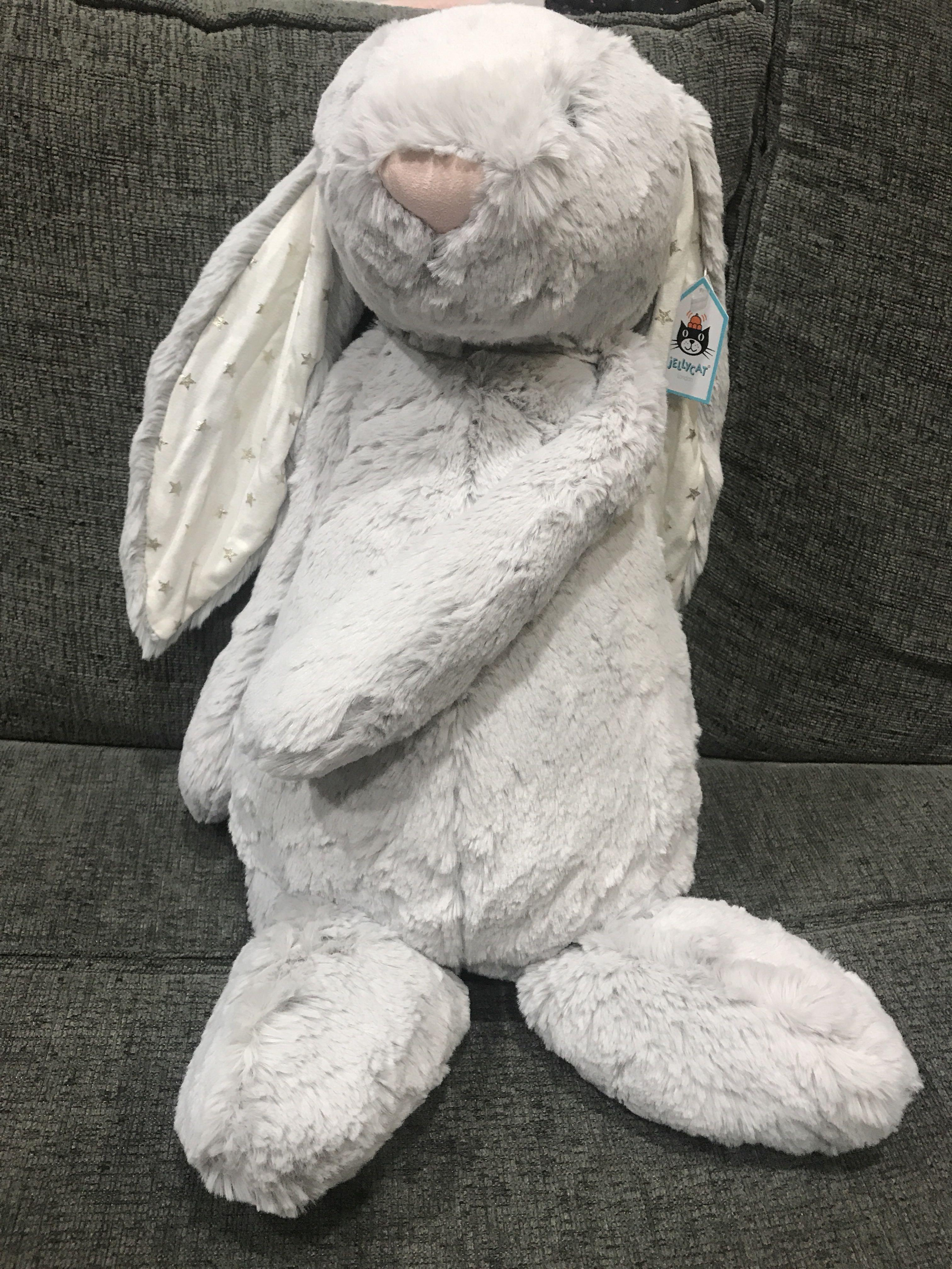 Jellycat Bunny twinkle huge (limited and rare)