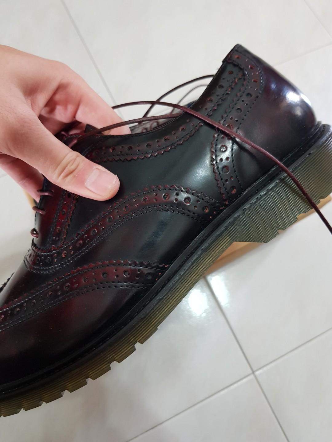 Red Tape Oxblood Brogues us11