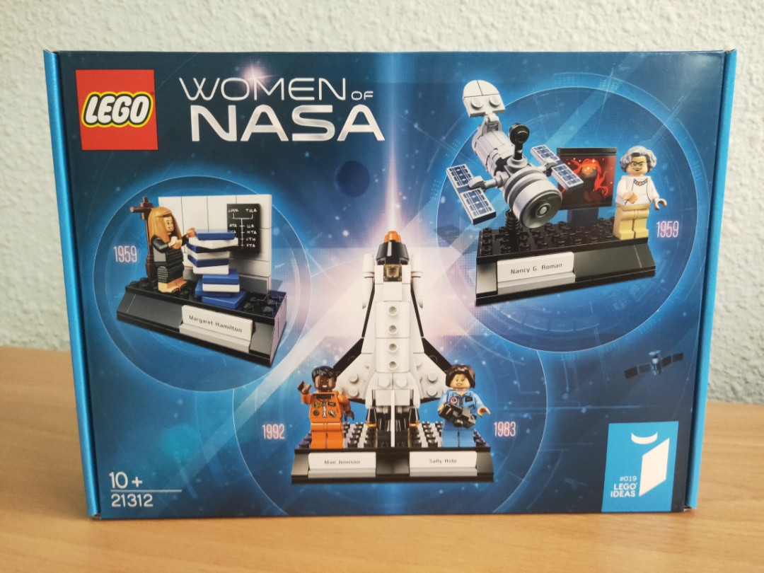New Genuine LEGO Nancy G Roman Women of NASA Astronaut 21312