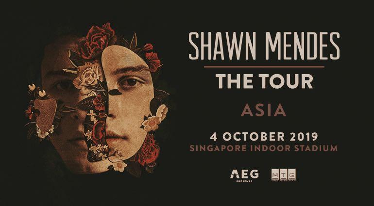 (LF) shawn mendes the tour ticket pa1 pc1