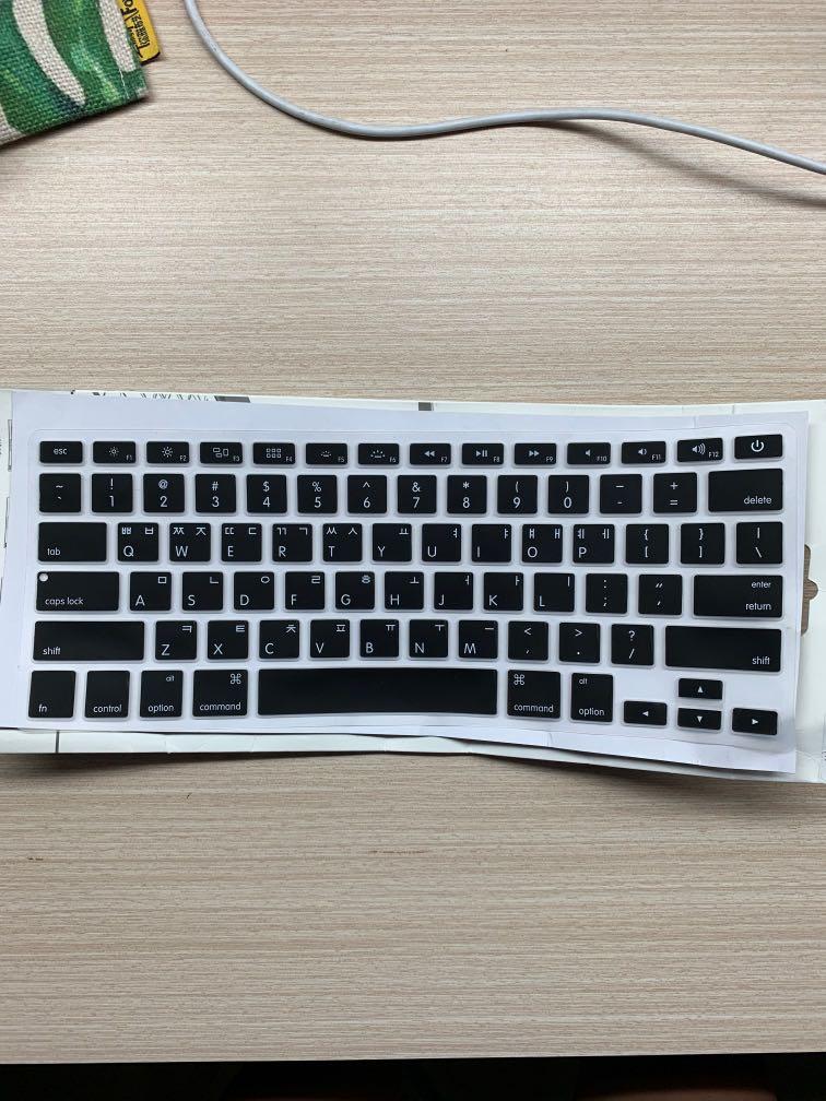 on sale 88efa b1dcb Macbook Pro Korean Keyboard Cover