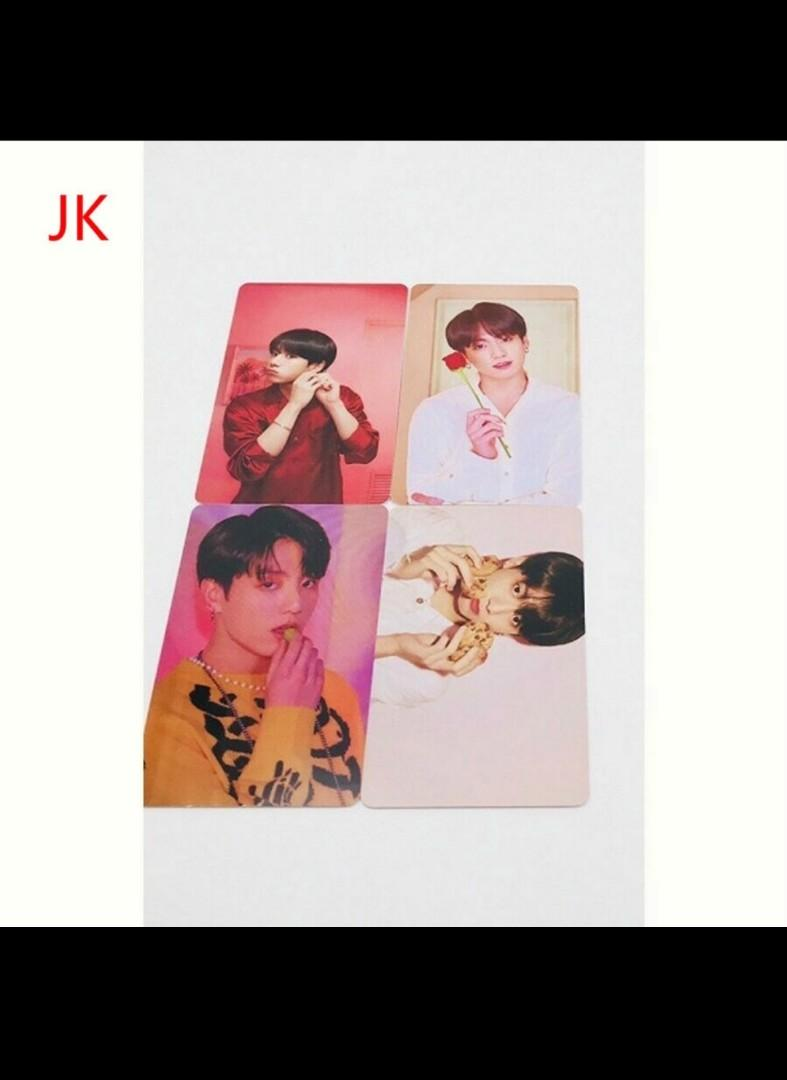 Map of the Soul: Persona PVC photocards poster