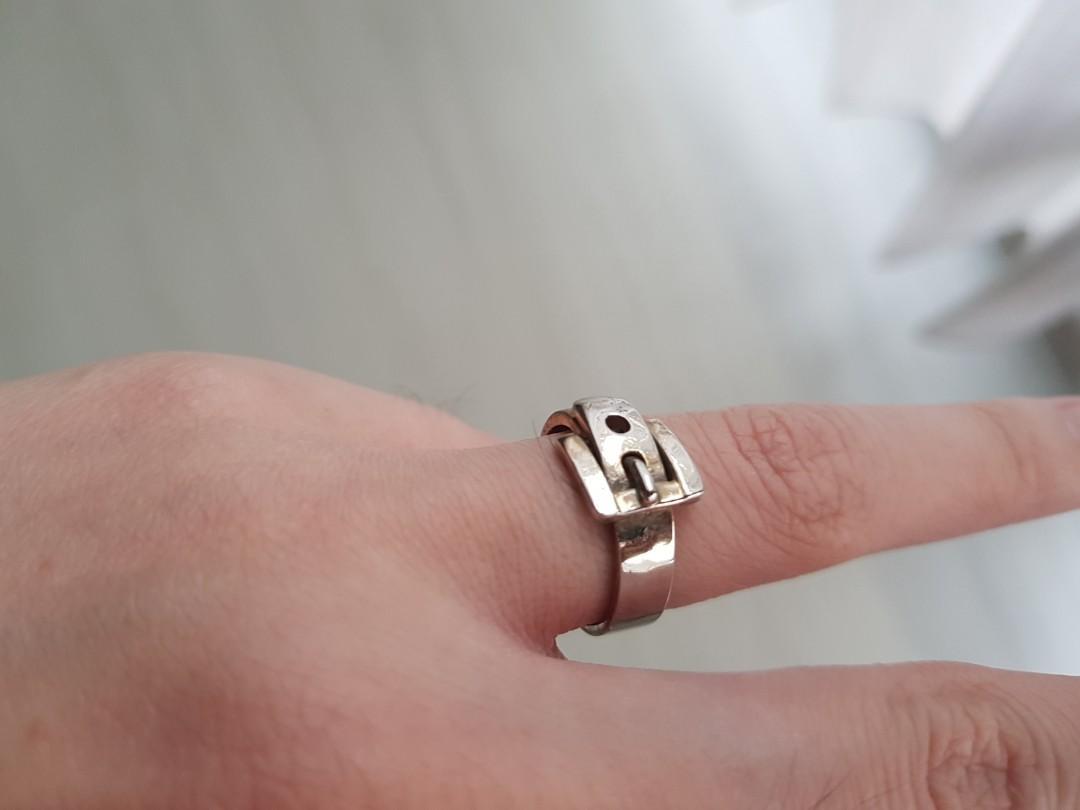 Massimo Dutti Cincin unik belt buckle