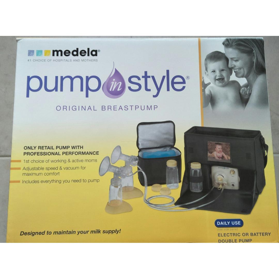 Medela Pump in Style Daily Use Shoulder bag set
