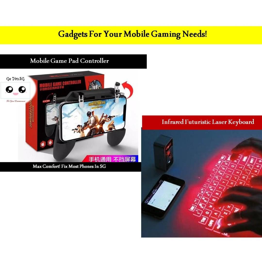 🔥Mobile Gamepad Game Controller Remote Joystick For PUBG