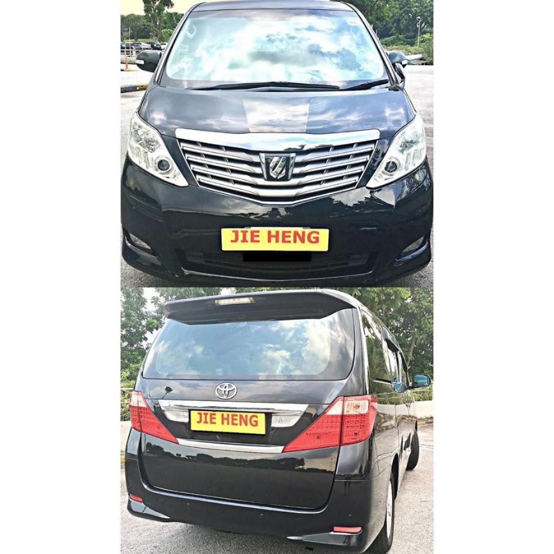 CHEAPEST $83 PER DAY MPV FOR PHV/LEASING [TOYOTA ALPHARD 2.4A]