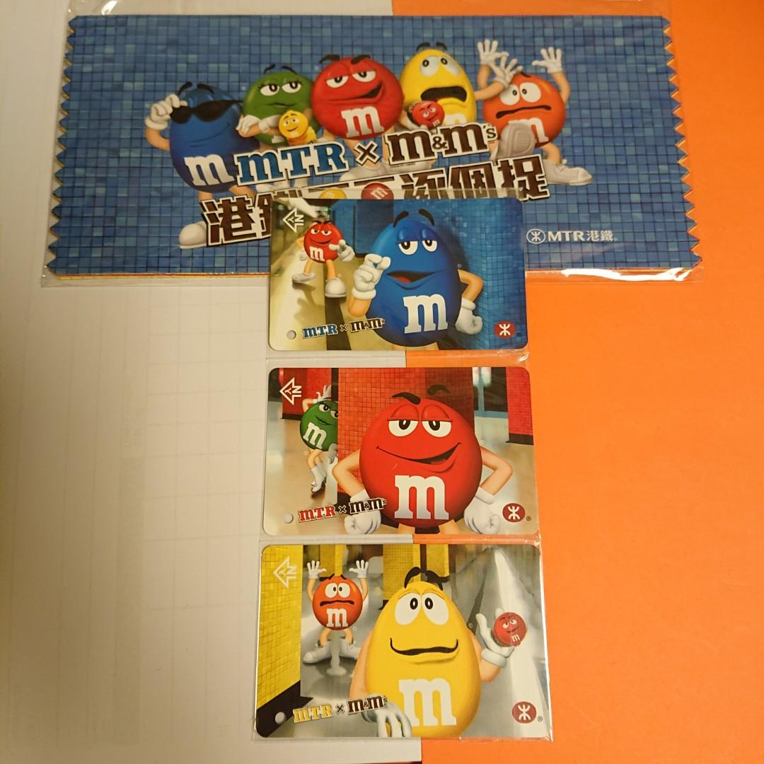 Mtr港鐵 m&m's 紀念車票