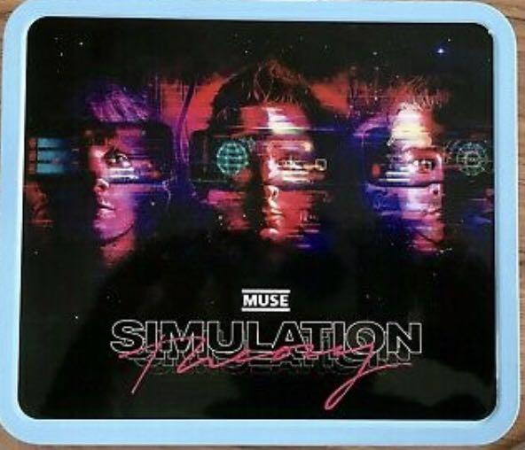 Muse Limited Edition Lunch Box 2019 VIP Simulation Theory Tour