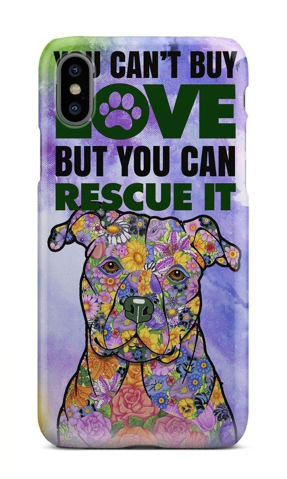 New Handmade Pit Bull Hard Phone Cases