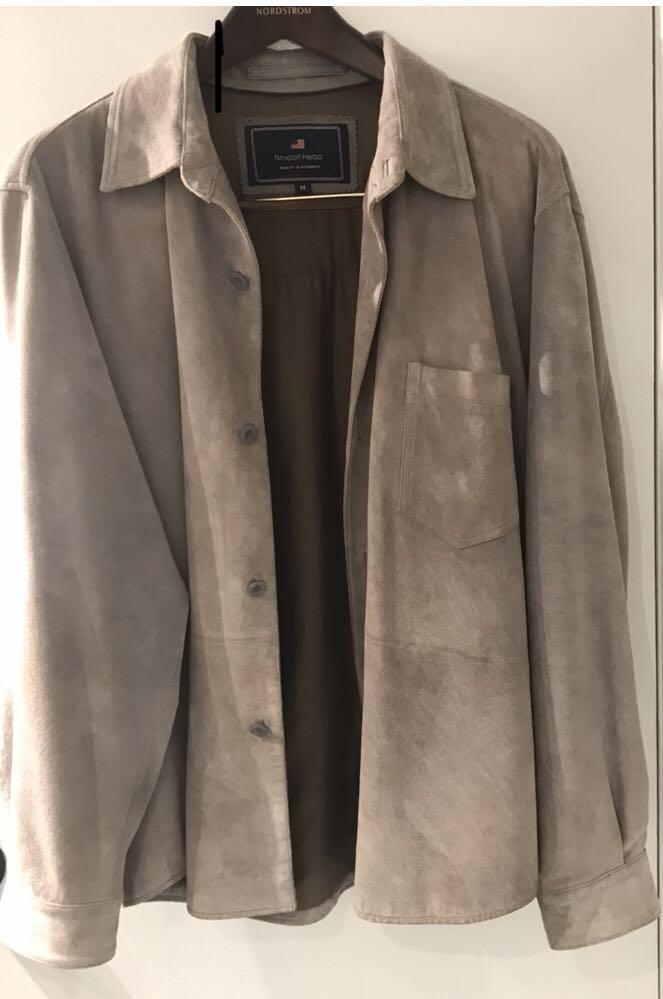 Newport Harbor Suede Jacket