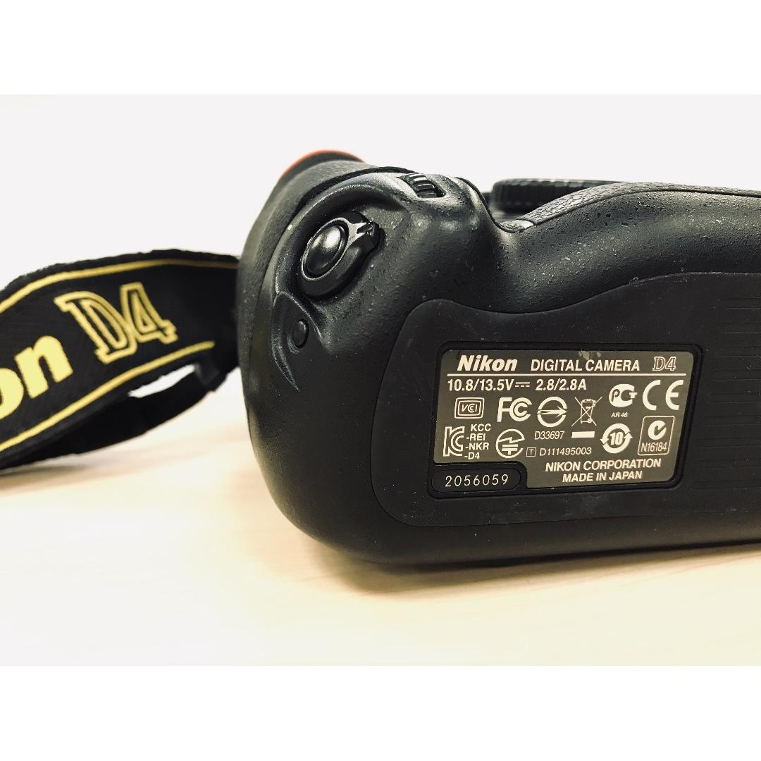 Nikon D4(Body only)(Made in Japan)
