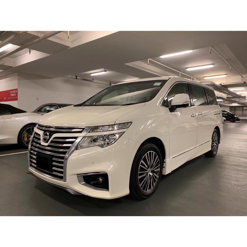 NISSAN ELGRAND HIGHWAYSTAR 2014