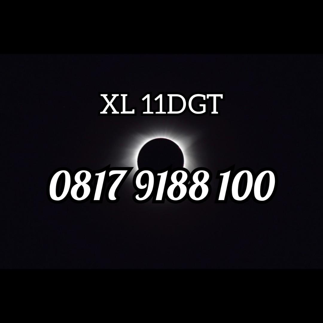 Nomor cantik minimalis 11dgt special edition