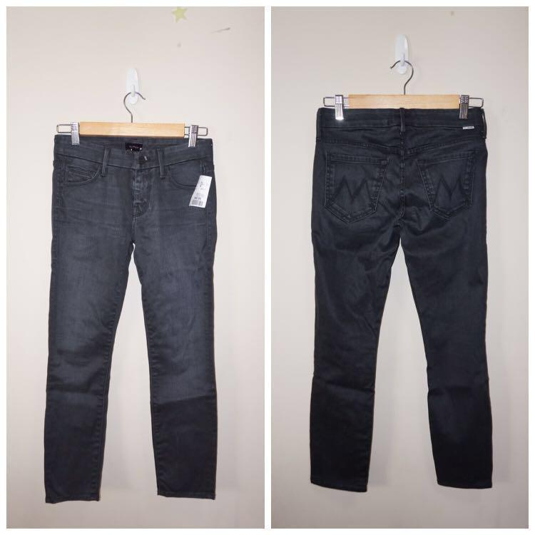 *NWT✨* MOTHER The Looker Crop Skinny Jeans in Lies & Shadows Women Size 25