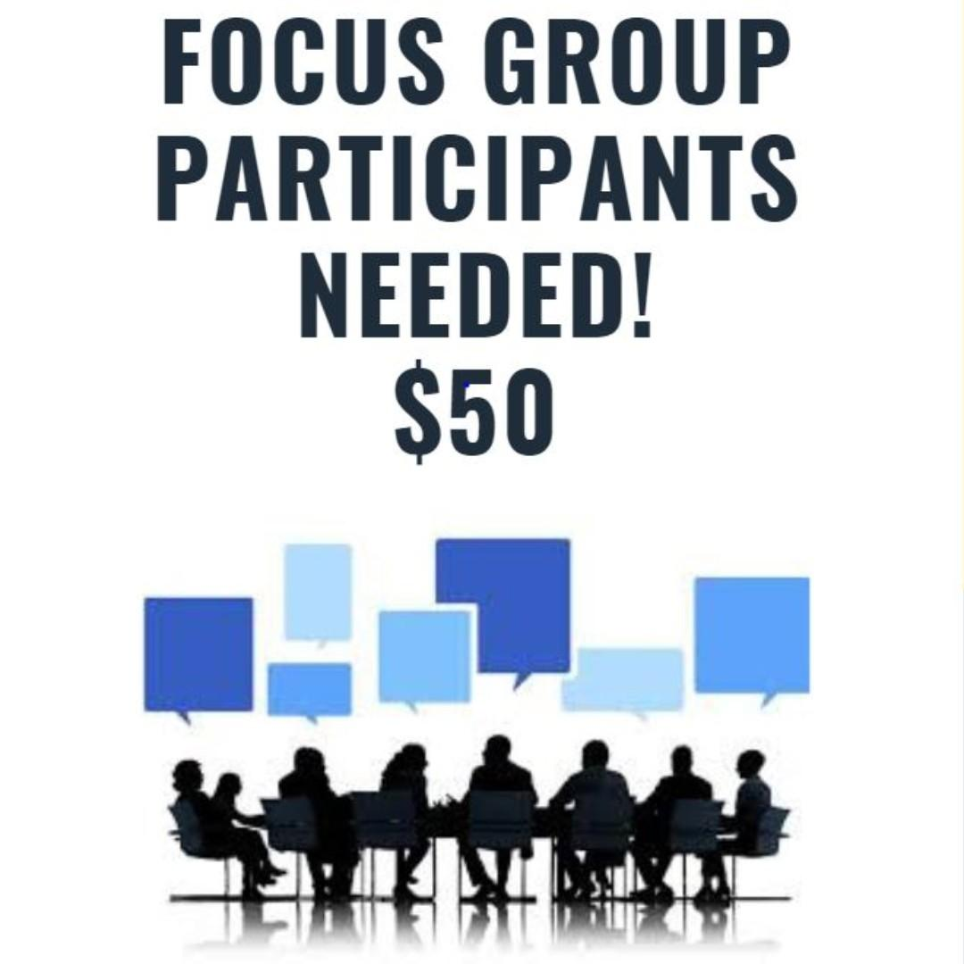 Participants for Focus Groups