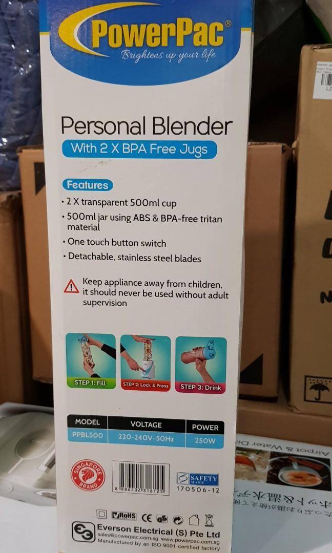 PowerPac Blender