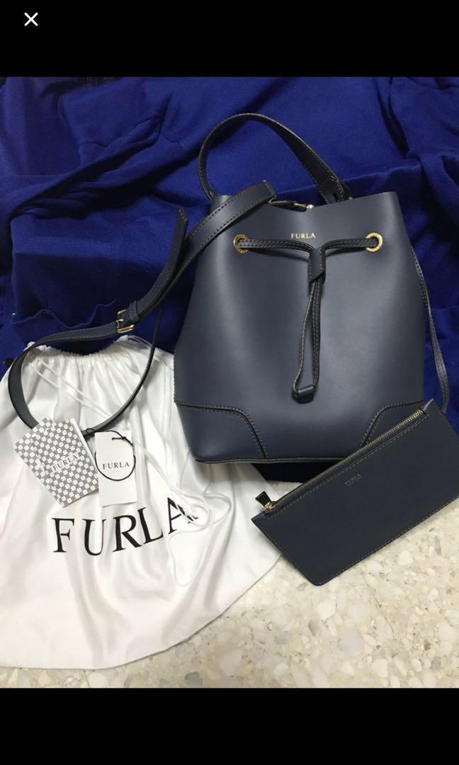 Preloved Furla Stacy Bucket Bag