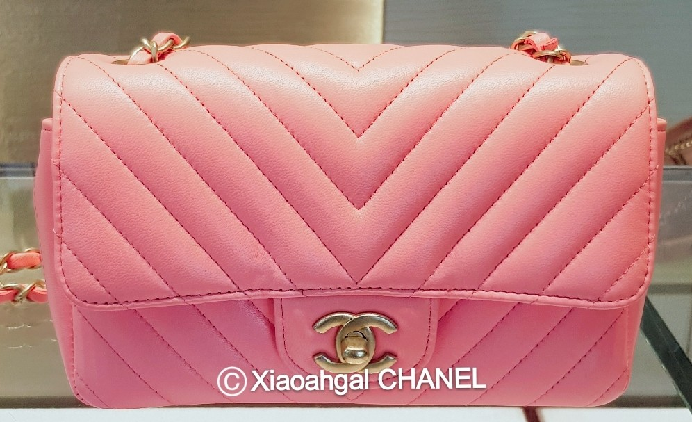 3ca9c05974baab RESERVED in instalment** QYOP Chanel pink gold hardware mini ...