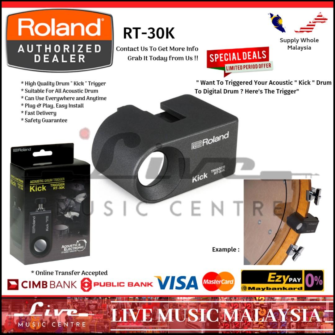 Roland RT-30K Kick Drum Trigger (RT30K)