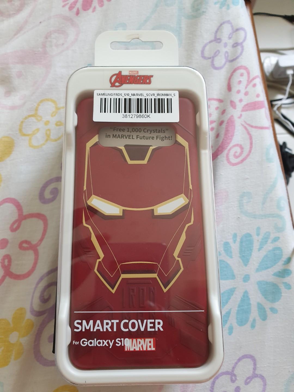 Samsung s10 smartcover(ironman)