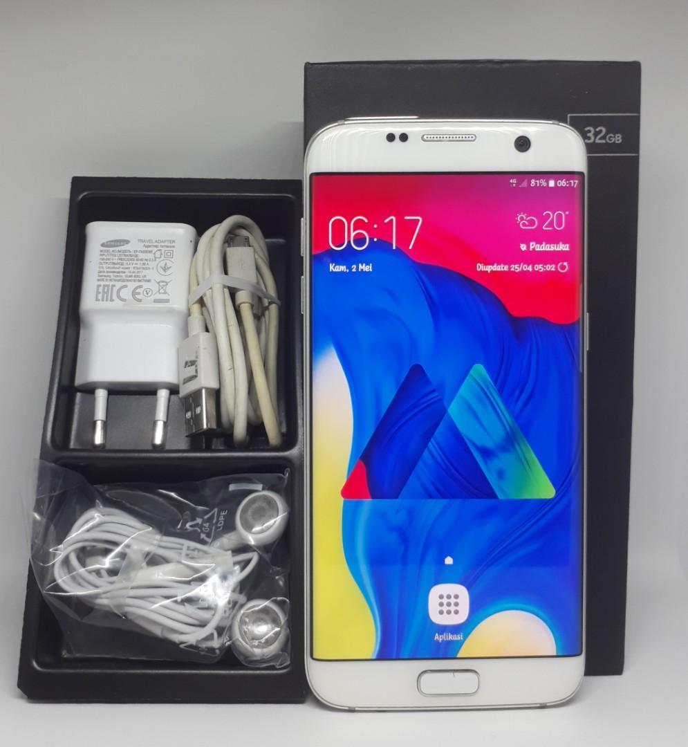 Samsung S7 Edge 4G, AU Ori Jepang, Ram 4/32GB,Mulus No Minus