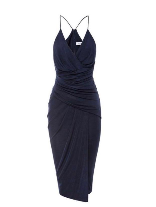 Sheike navy dress size 6