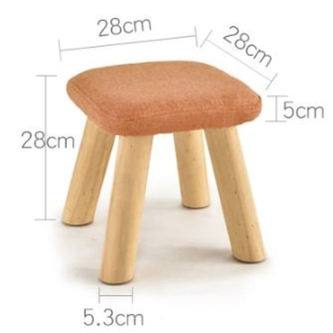 Fine Small Stool Stool Solid Wood Fashion Stool Fabric Chair Gmtry Best Dining Table And Chair Ideas Images Gmtryco