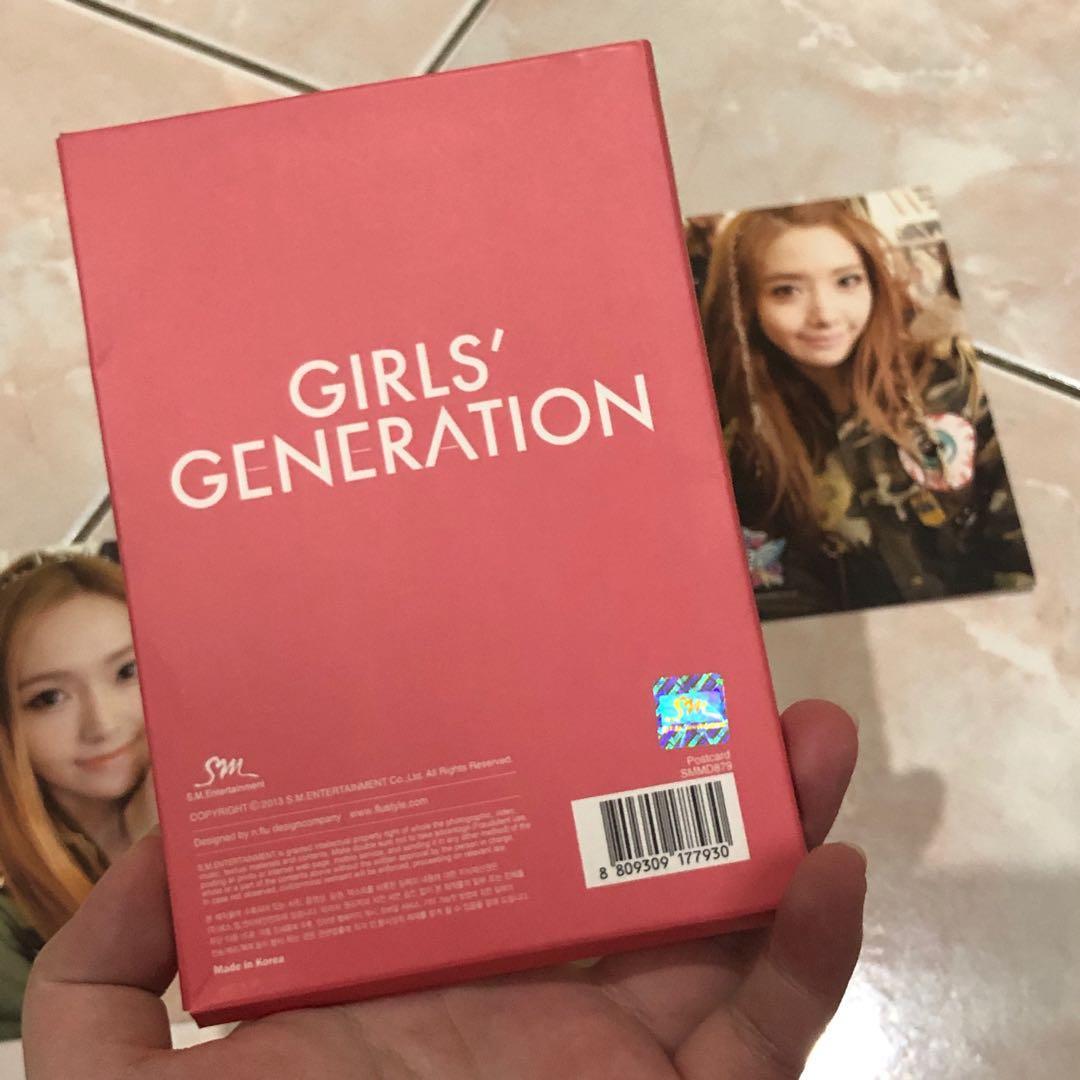 Snsd girls generation i got a boy igab sm town postcard korea kpop
