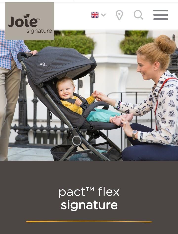 Stroller Joie Pact Flex Signature