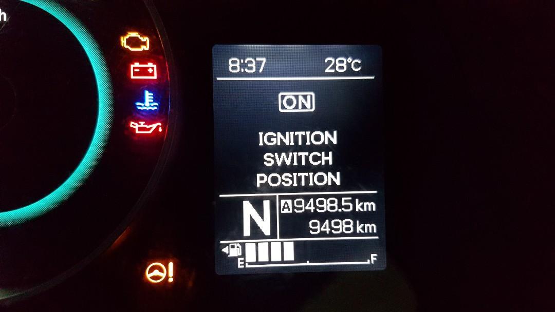Suzuki Ignis GX matic tahun 2017 km antik