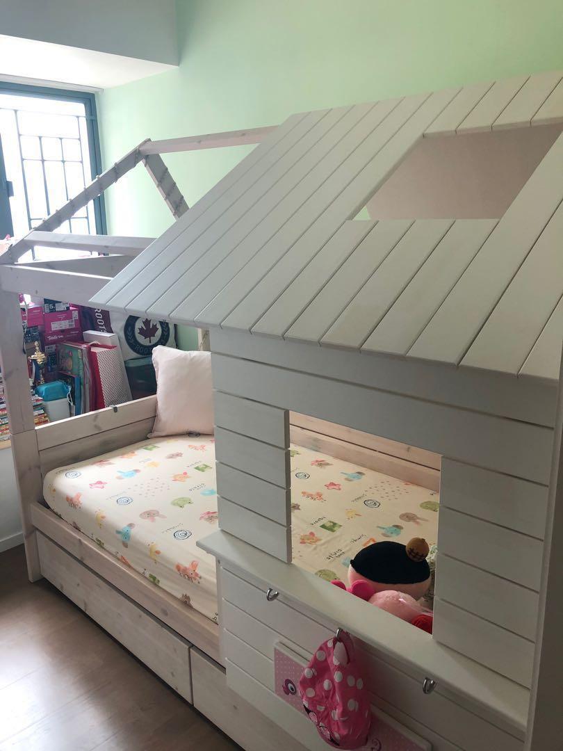 Lifetime Bed Silver Sparkle.Tavolo Lifetime Low Hut Bed Silversparkle Babies Kids