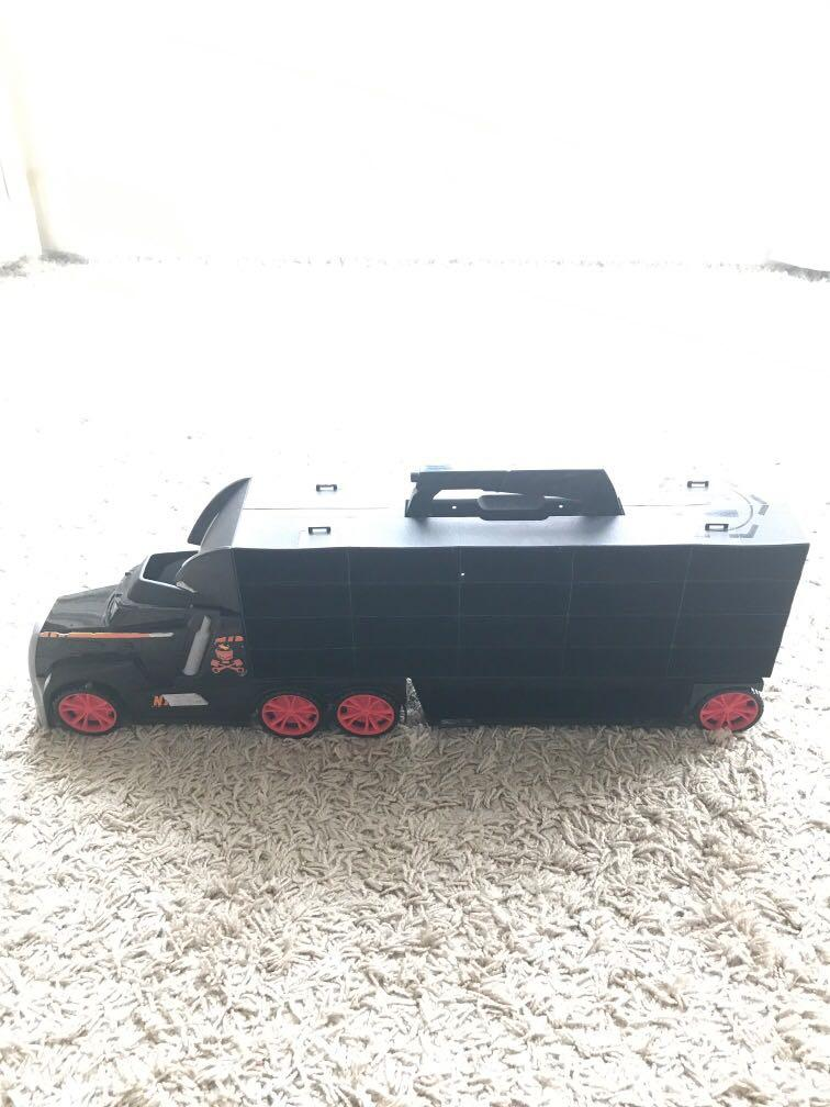 Toy truck transport carrier